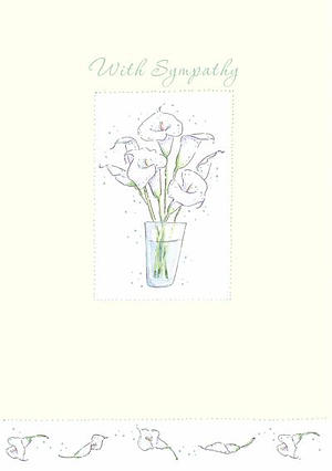 Sympathy Lilies - pack of 6
