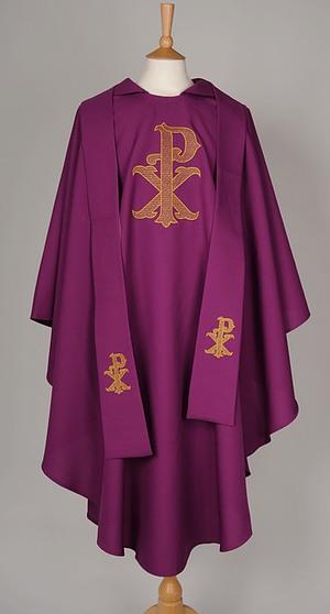 Roman Purple PX Chasuble / Stole