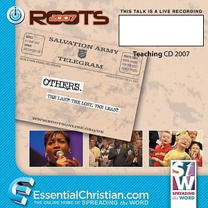 OTHER a talk by Rev Steve Chalke