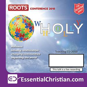 Equip Seminar: Whole (Holy) Life Discipleship - a talk by Alastair Jones & Danielle Strickland