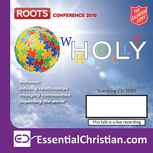 Equip Semianrs: Whole (Holy) Life Discipleship - a talk from Salvation Army