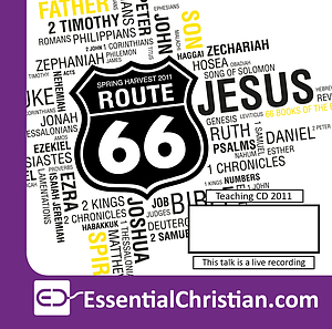 Route 66: biblical direction: The Gospel-driven life a talk by Dr Krish Kandiah