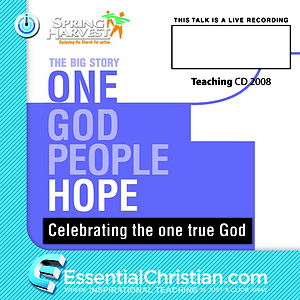 Once upon a time, Christ's Eschatology a talk by Dr Krish Kandiah