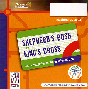 Evening Celebration Calling At Shepherd's Bush a talk by Marion White