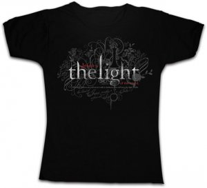 The Light Fitted T Shirt: Black, Female Small