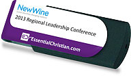 New Wine Leadership Conference 2013 N&E USB Stick a series of talks from New Wine