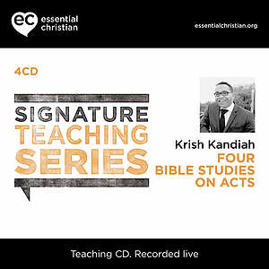 Acts: Signature Teaching Series a talk by Dr Krish Kandiah