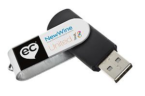 United 2018 MP3 USB week 1 a talk from New Wine