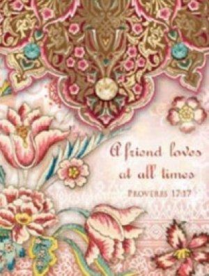 Proverbs 17:17 Pocket Note Pad