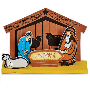 Build Your Own Nativity Foam Activity Kit