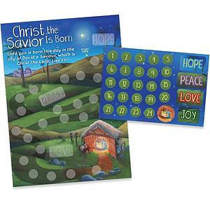 Christ the Savior is Born Activity Sticker Kit
