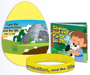 Jumbo Gospel Egg with Bracelet & Booklet