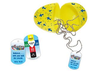 Gospel Easter Egg with Dog Tag