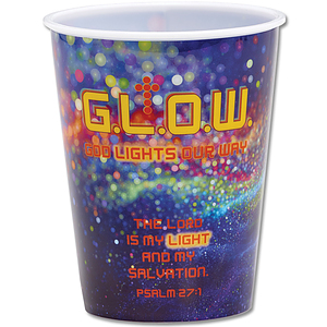 G.L.O.W. God Lights Our Way Single Tumbler