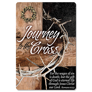 Journey to the Cross Pin and Card