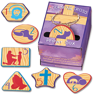 Journey to the Cross Prayer Box & Devotion Tokens