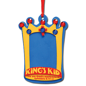 I'm a King's Kid Foam Crown Activity Kit Single