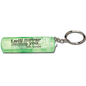 Light the Night with Jesus Mini Flashlight