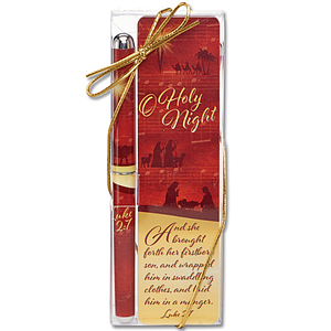 O Holy Night Pen and Bookmark