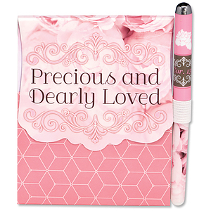 Precious and Dearly Loved Pen and Journal Set