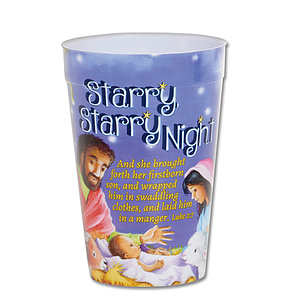 Starry Starry Night Plastic Tumbler - Single