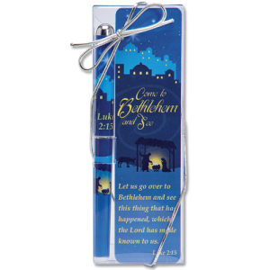 Come to Bethlehem and See Bookmark & Pen Set