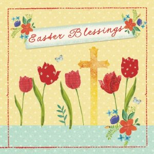 Easter Blessings Charity Cards - Tearfund