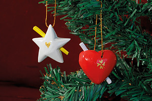 Heart & Star Gift Message Tags