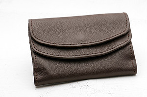 Brown Leather Ruth Purse