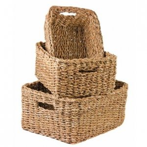 Set of 3 Hogla Baskets