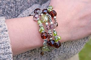 Clasp-free Wraparound Bracelet