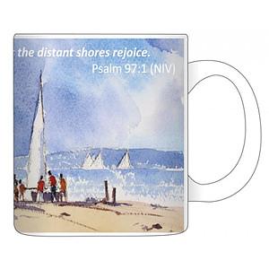 Boxed Eddie Askew Seashore Mug