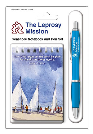 Eddie Askew Seashore Notebook & Pen Set