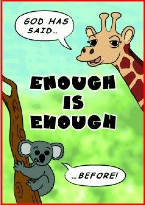 Tracts: Enough is Enough 50-pack
