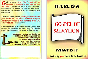 Tracts: Gospel of Salvation 50-pack