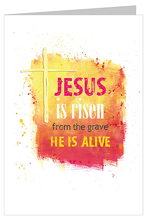 Jesus is Risen Easter Card Pack of 5