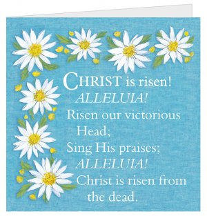 Christ is Risen Easter Cards - Pack of 5
