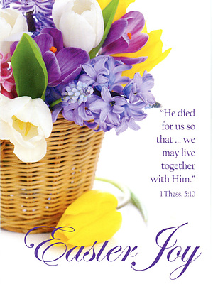 Easter Joy Cards - Pack of 4