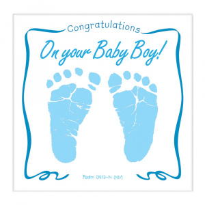 congratulations on your baby boy musical cd greeting card free