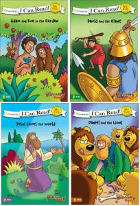 I Can Read Beginner's Bible Bundle