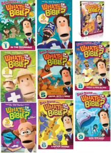 What's In The Bible Vol.1-9 Value Pack