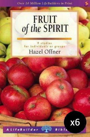 Lifebuilder Fruit of the Spirit Pack of 6