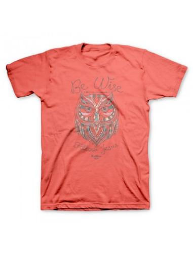T-Shirt Wise Owl Adult Medium | Free Delivery @ Eden co uk