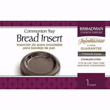 Titanium Communion Tray Bread Insert | Free Delivery @ Eden