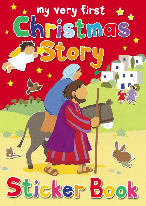 The Christmas Story Book.My Very First Christmas Story Sticker Book