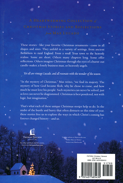 Max Lucado Christmas.Christmas Stories