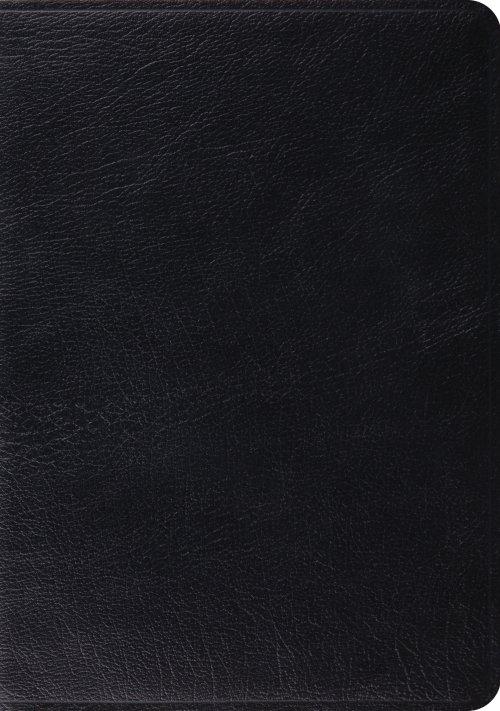 ESV Study Bible: Black, Genuine Leather