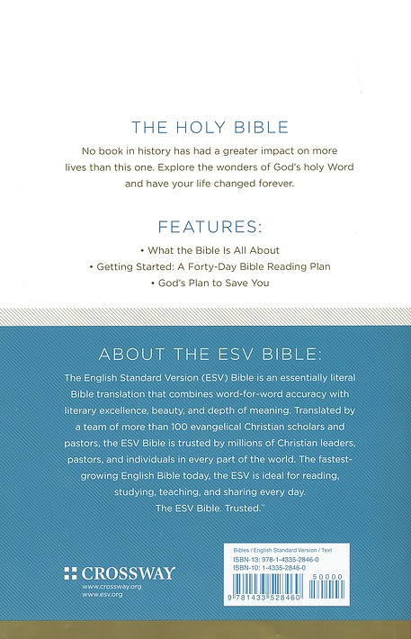 ESV Economy Bible (9781433528460)   Free Delivery when you spend £10