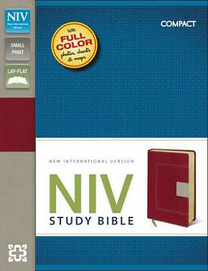 NIV Study Bible Compact | Free Delivery @ Eden co uk