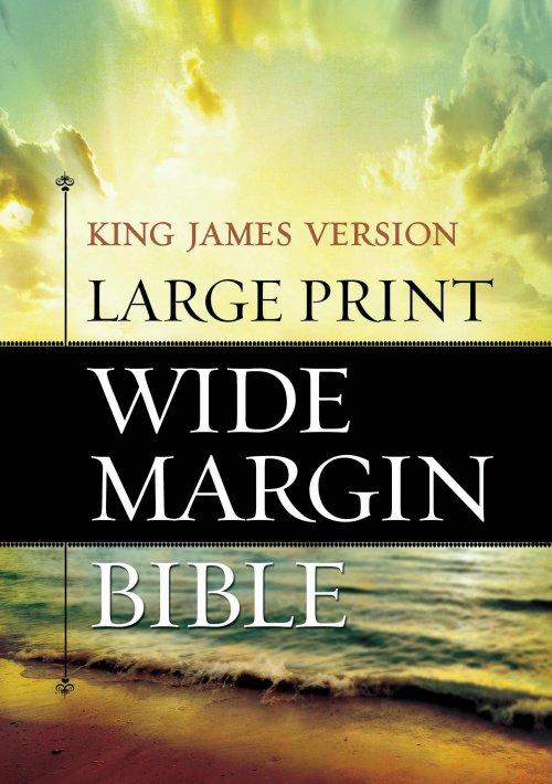 KJV Wide Margin Bible Large Print
